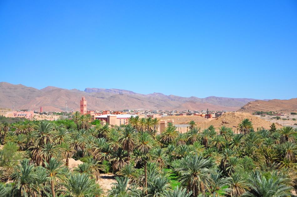Vue de Tata Maroc
