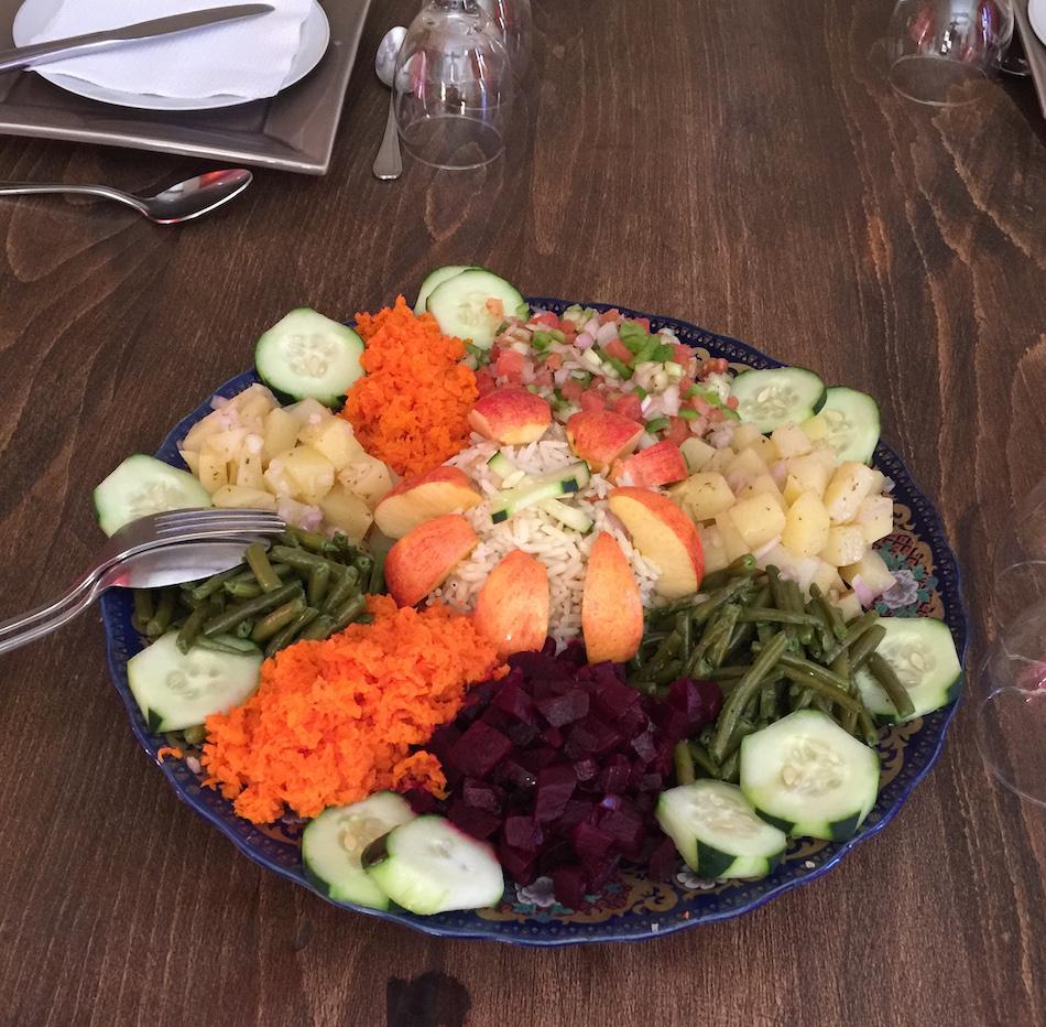 Salade marocaine chez Lahcen