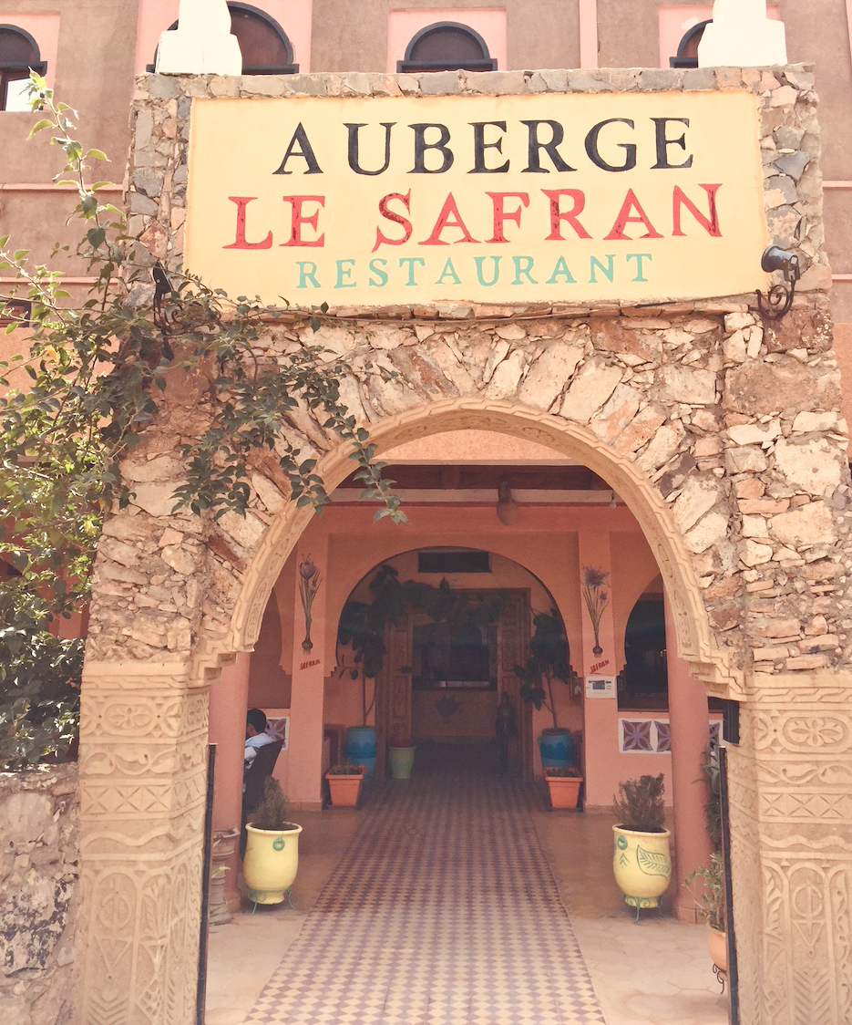 Le safran auberge Taliouline