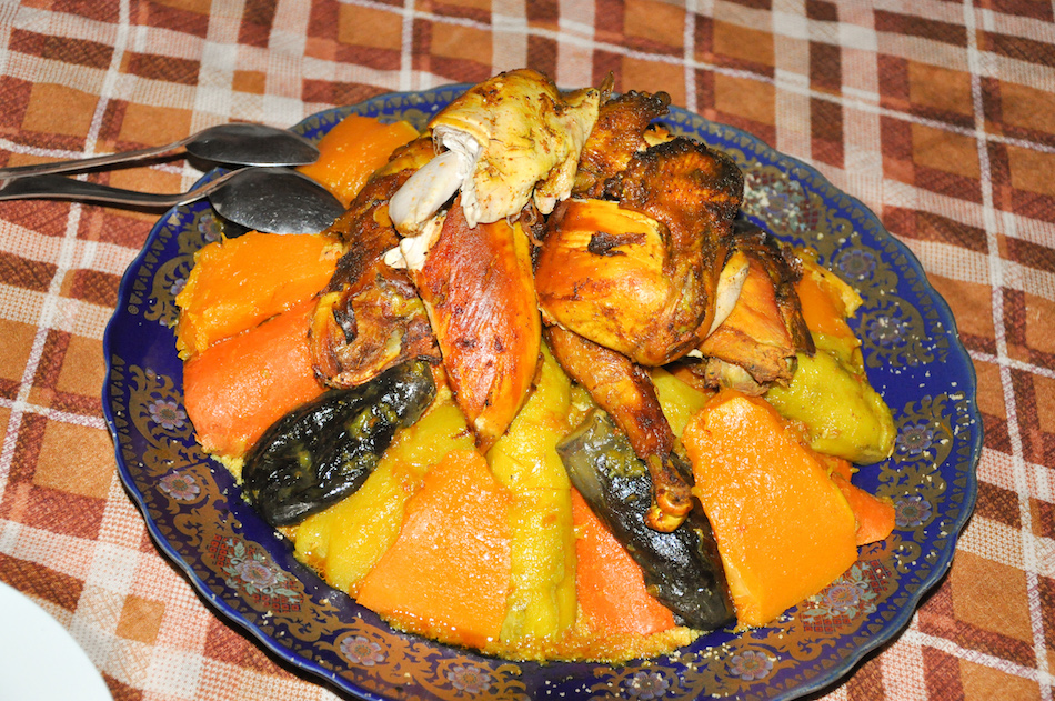Couscous au campement Akka N'ait Sidi Tissint