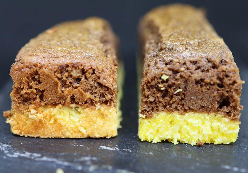 Mes barres chocolat doux et coco recette de Philippe Conticini