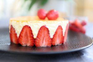 Mon fraisier léger version Philippe Conticini
