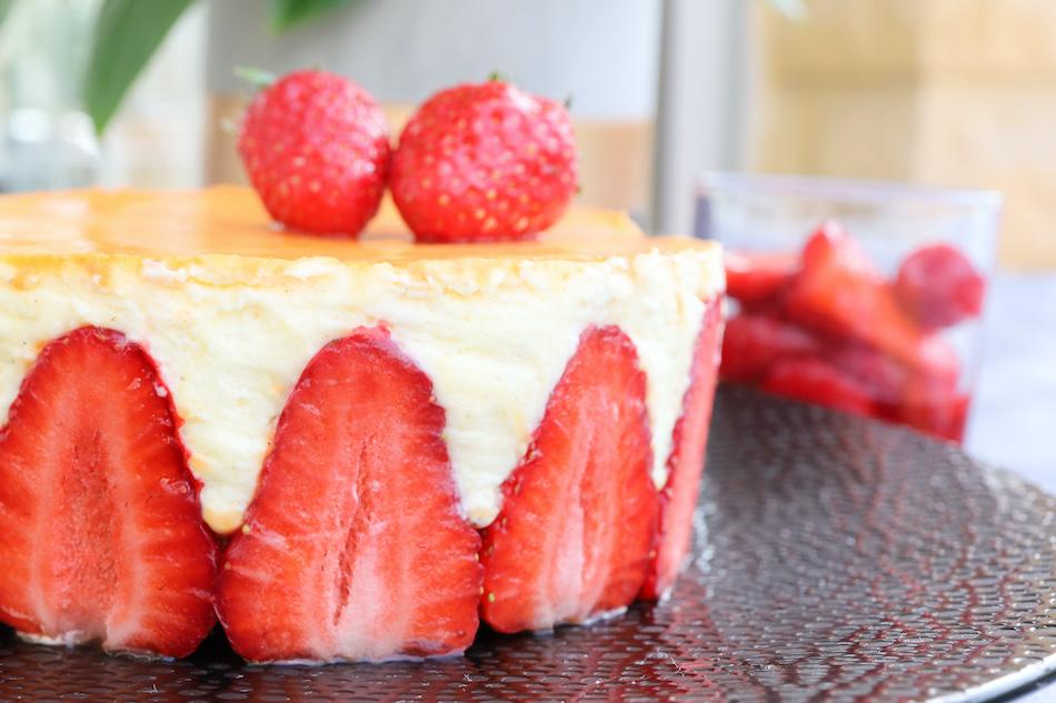 Mon fraisier léger