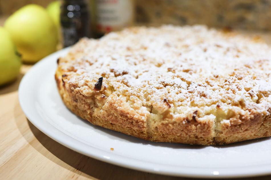 La tarte aux pommes qui croustille